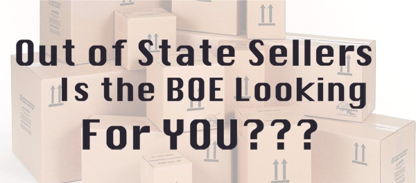 BOE information for out of state sellers