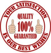 Your satisfaction is our best wishes